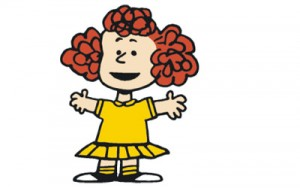 peanuts girl naturally curly hair