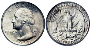 pre1965 washington quarters silver