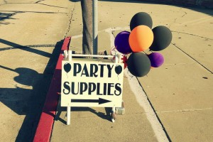 how much party supplies cost